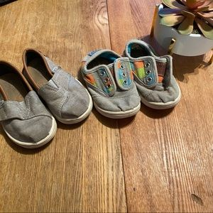 Final price 💸 Toms baby shoes - 2 pair